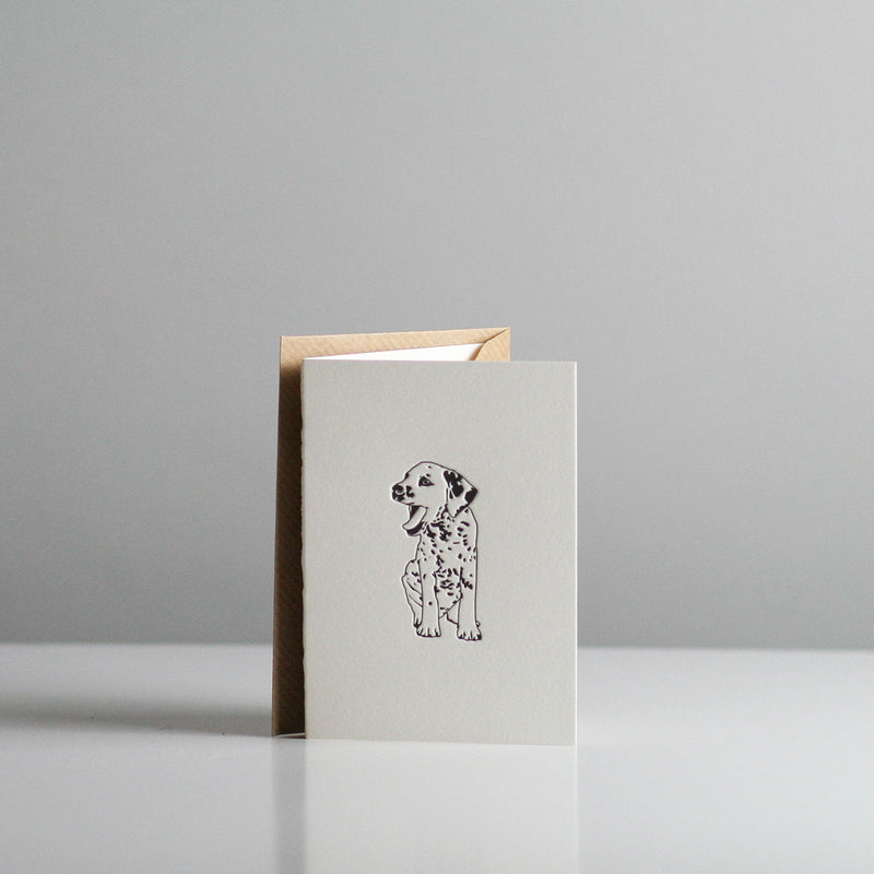 Penguin Ink - Dalmatian Card