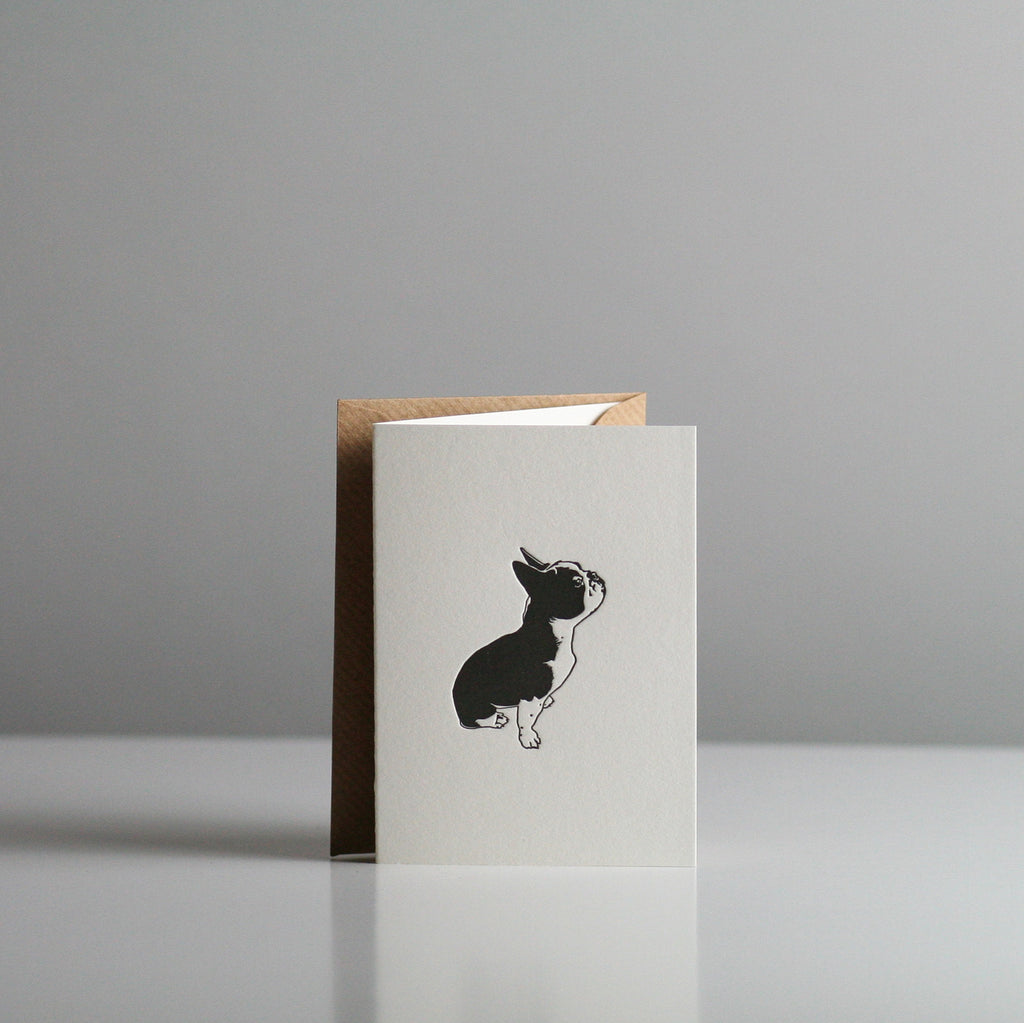 Penguin Ink - Napoleon French Bulldog Card