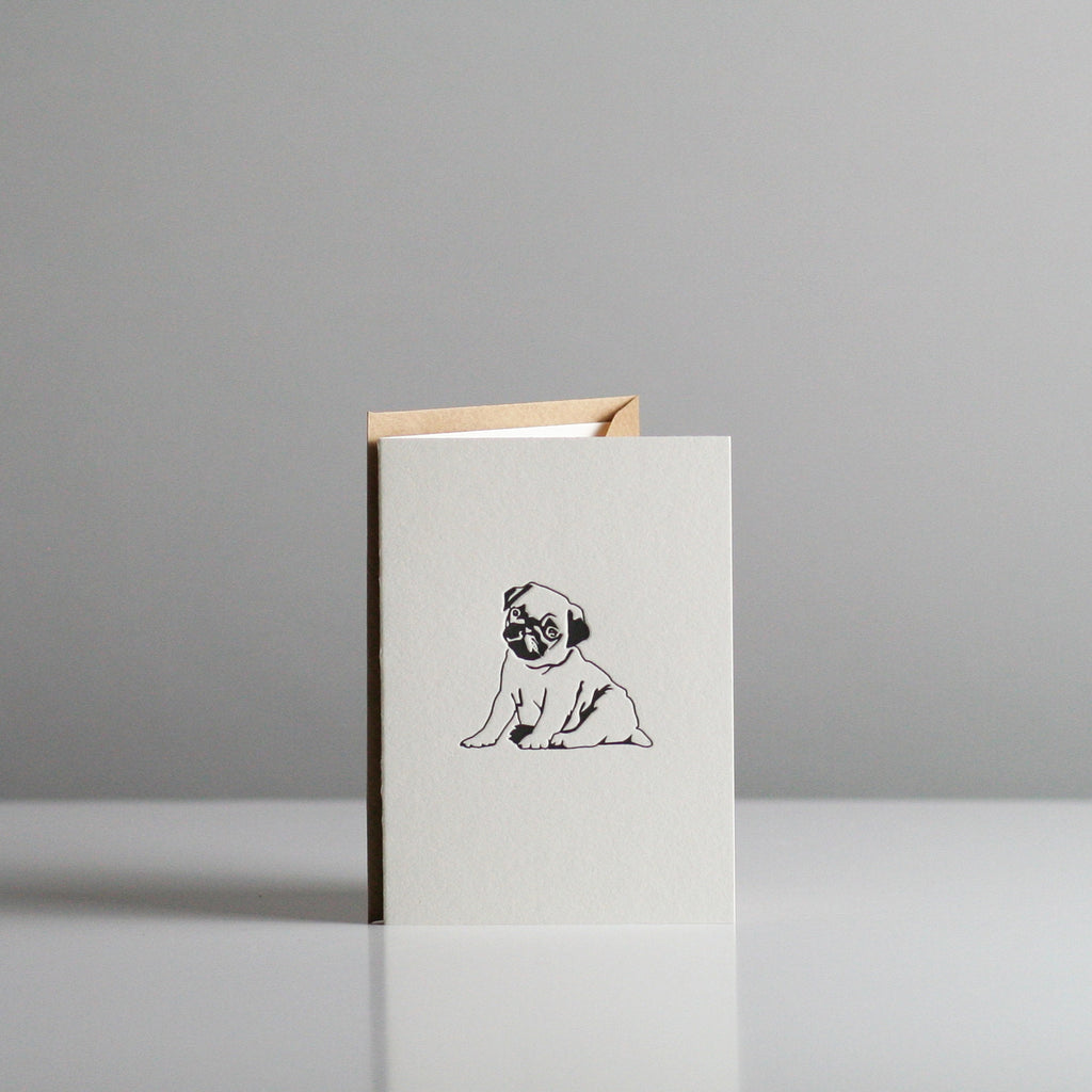 Penguin Ink - Pug Card