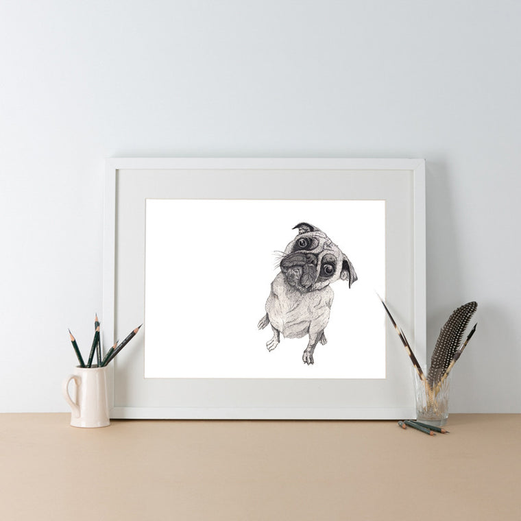 It Wasn't Me, Pug by Ben Rothery