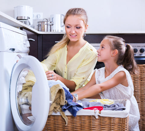 tips to help manage the family laundry