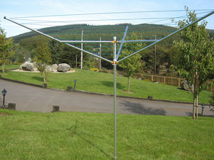 Breezecatcher Umbrella clothesline TS3-100 - Breezecatcher Clothesline - 4