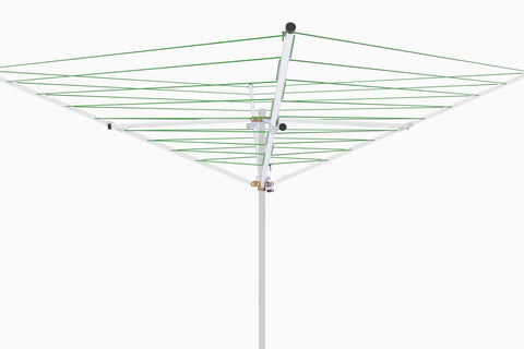 Rotary umbrella outdoor clothesline four arm 120 ft TS4-36M - Breezecatcher Clothesline - 1