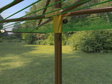 Load image into Gallery viewer, Breezecatcher clothesline WOOD-PLD-6X8-27 - Breezecatcher Clothesline - 3