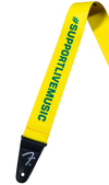 FENDER | Support Act Charity Strap |  Yellow/Green
