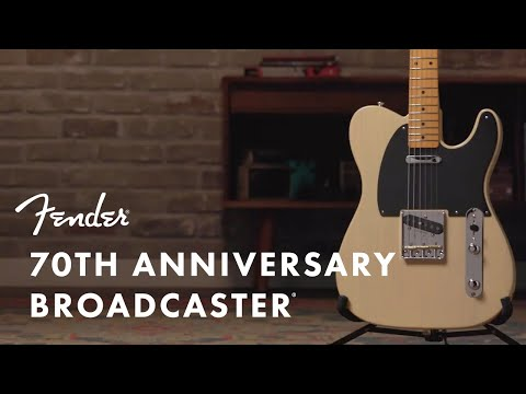 Fender | 70th Anniversary | Broadcaster |