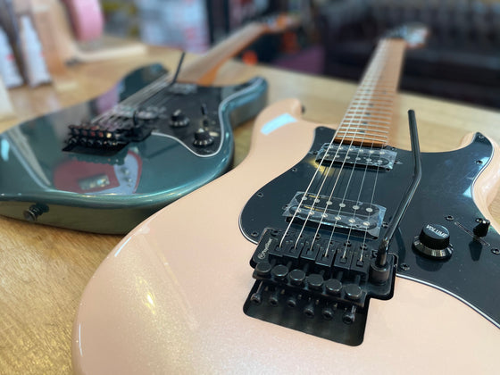Fender | Squier | Contemporary Strat | HH | Shell Pink Pearl