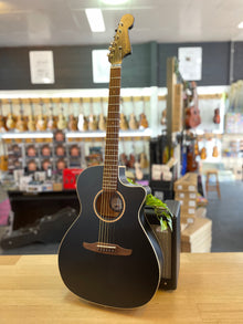 Fender | Newporter Special | All Solid | Matte Black | Acoustic-Electric