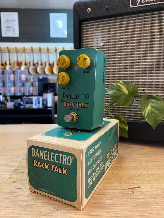 Danelectro | Back Talk | Reverse Delay