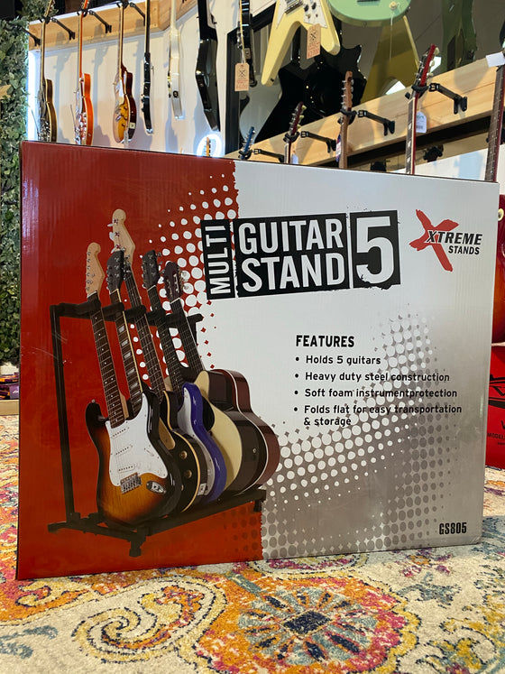 Xtreme | GS805 | 5 Guitar Multi Rack Stand