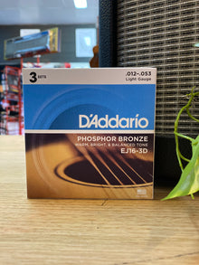 D'Addarrio | EJ163DS | 12-53 | 3-Pack | Light | FREE SHIPPING