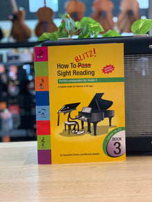How to Blitz Sight Reading | Book 3 | Perfect preparation for Grade 5