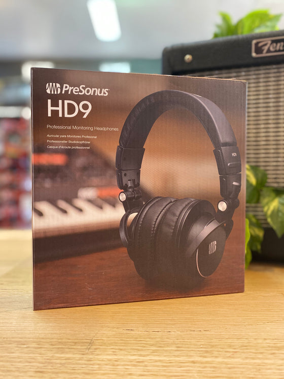 PreSonus | HD9 | Studio Monitoring Headphones