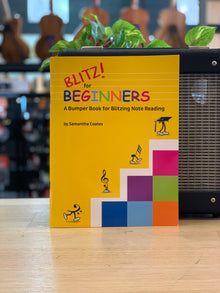 Blitz for Beginners | Samantha Coates | A Bumper Book for Blitzing Note Reading