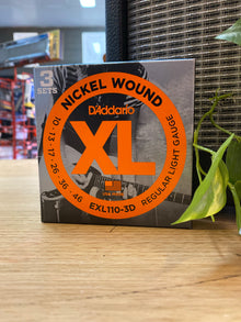 D'Addario | XL1103D | 10-46 | 3-Pack | Regular Light | FREE SHING