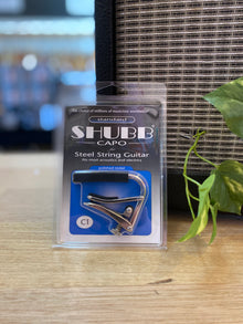 SHUBB | C1 | Quick Change Capo | Steel String