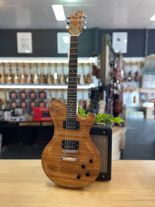 JMB Custom Guitars | O.G. | Zebrano Top | Handmade in Australia