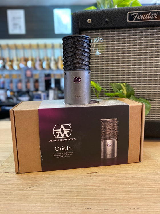 Aston | Origin | Cardioid Condenser Microphone | Made in the UK