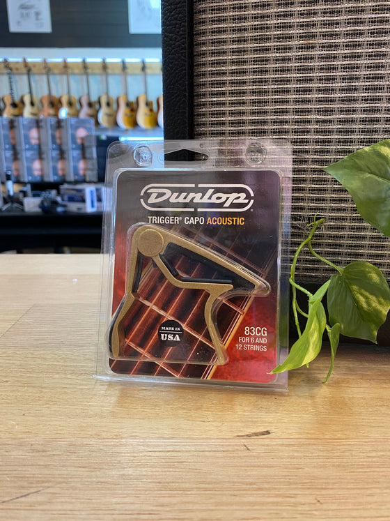 Dunlop | Trigger Capo | Steel String | Gold
