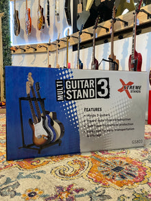 Xtreme | GS803 | 3 Guitar Multi Rack Stand