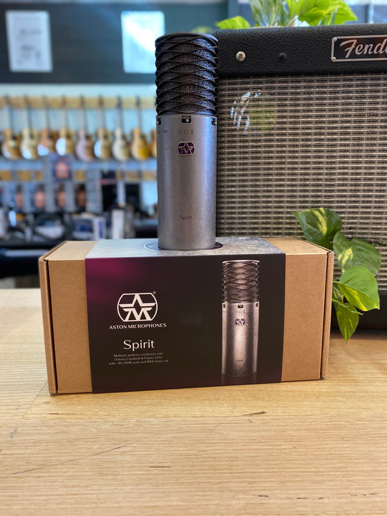 Aston | Spirit | Studio Condenser Microphone | Made in the UK