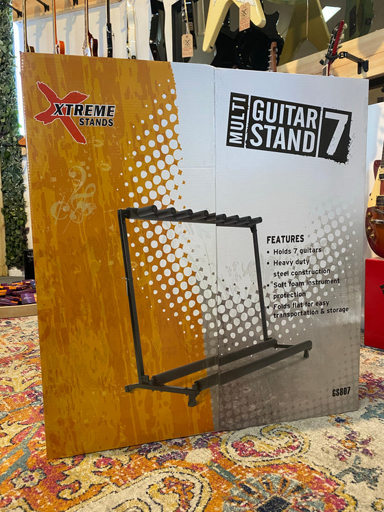 Xtreme | GS807 | 7 Guitar Multi Rack Stand