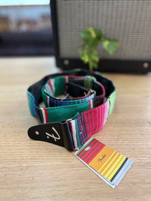 FENDER | Serape | Green | Multi Colour | Guitar Strap