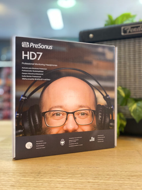 PreSonus | HD7 | Studio Recording Headphones