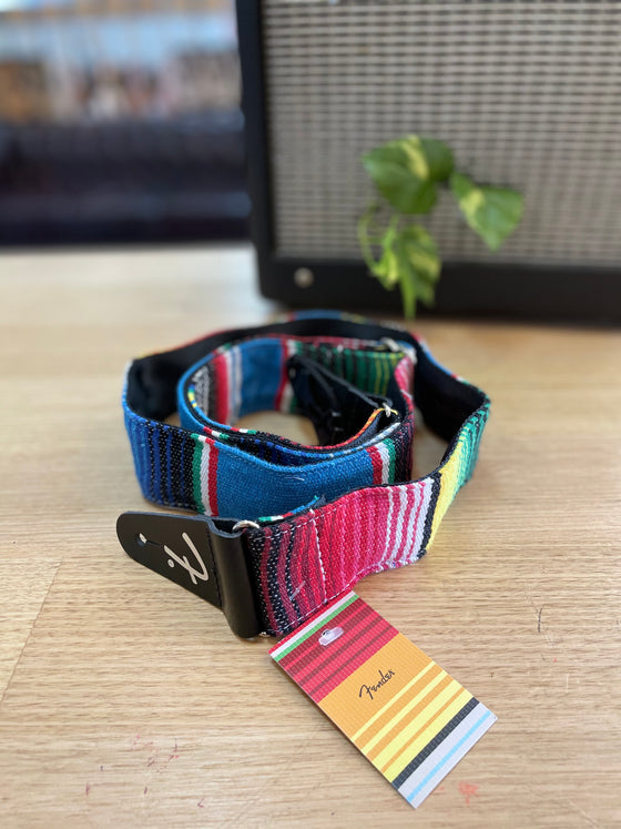 FENDER | Serape | Blue | Multi Colour | Guitar Strap