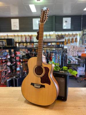Gilman | GA112CE | 12 String | Acoustic/Electric Guitar