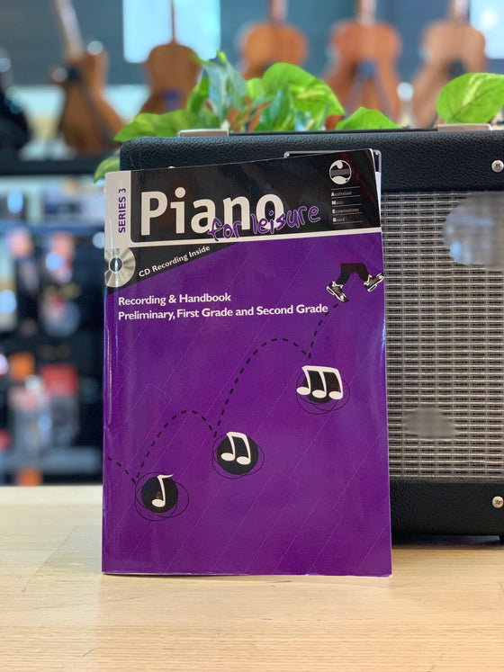 AMEB | Piano for Leisure | Series 3 | Recording & Handbook | Preliminary, Grade 1 & 2
