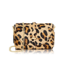Chain strap animal print bag