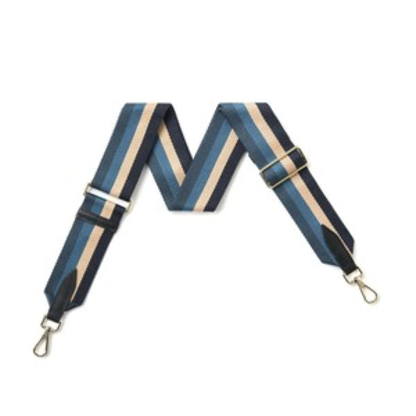 Multi blue bag strap