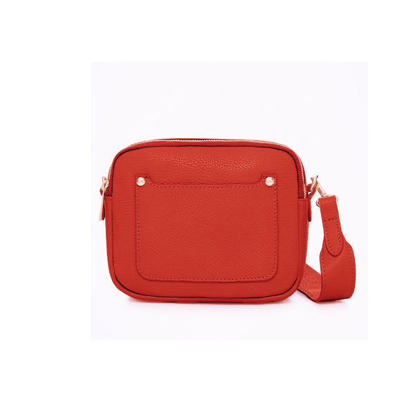 Pocket front rectangle 'camera' bag