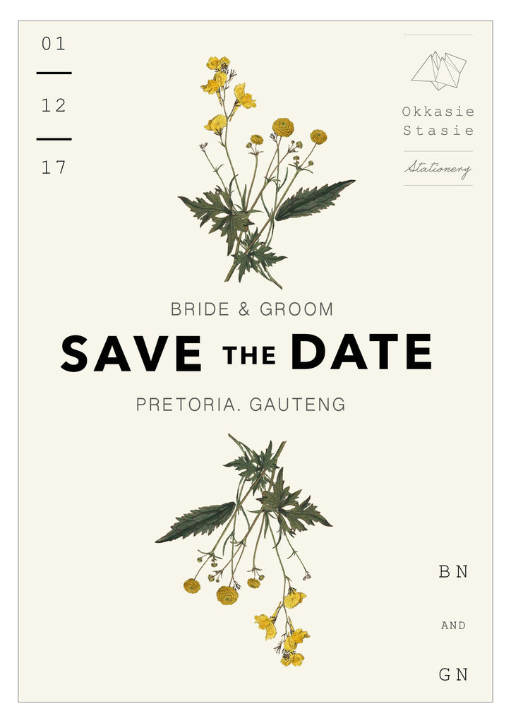 Botanicals - Complete Wedding Package - ZA Kreated - 9