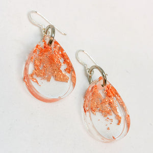 Rose Gold Drop Dangle Earrings