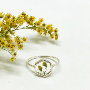Goldenrod Rings