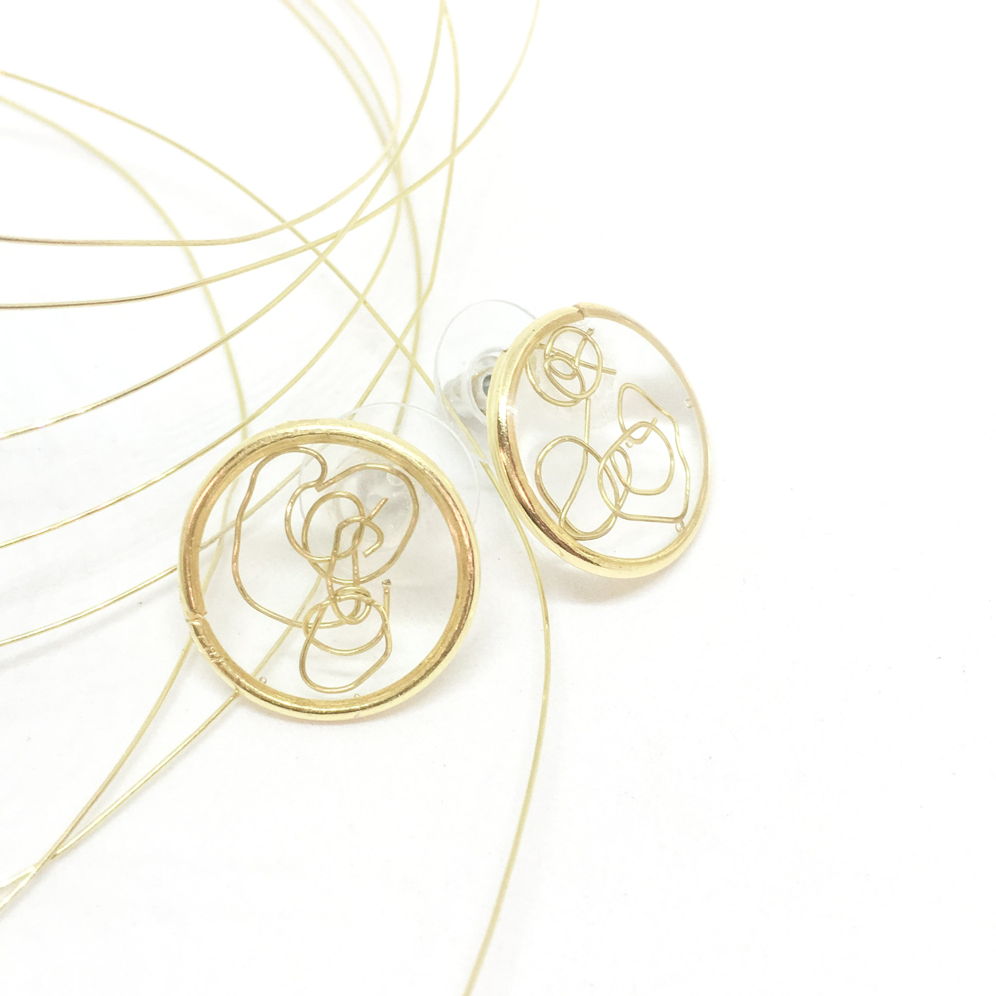 Products Tagged Hypoallergenic Za Kreated Wiring Through Studs Wire Gold Frame