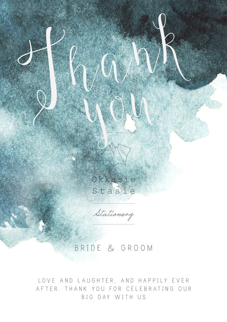 Navy Watercolour - Complete Wedding Package - ZA Kreated - 11