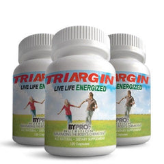 (3-Pack) Triargin - All Day Energy and Vitality - 3 x 120 Capsule Bottles and Save $$ plus 1 Penny SHIPPING