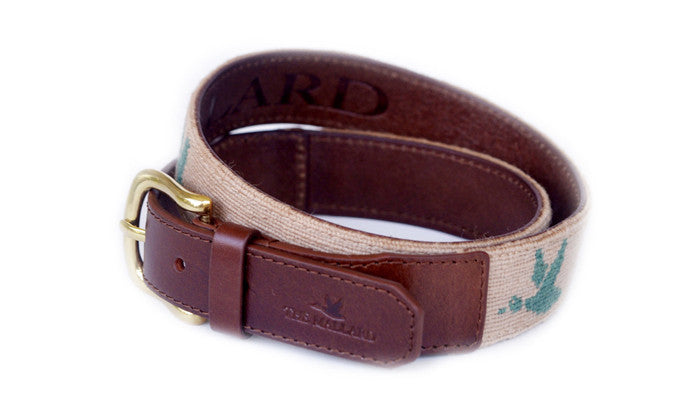 Light Khaki Mallard Belt - The Mallard - 1