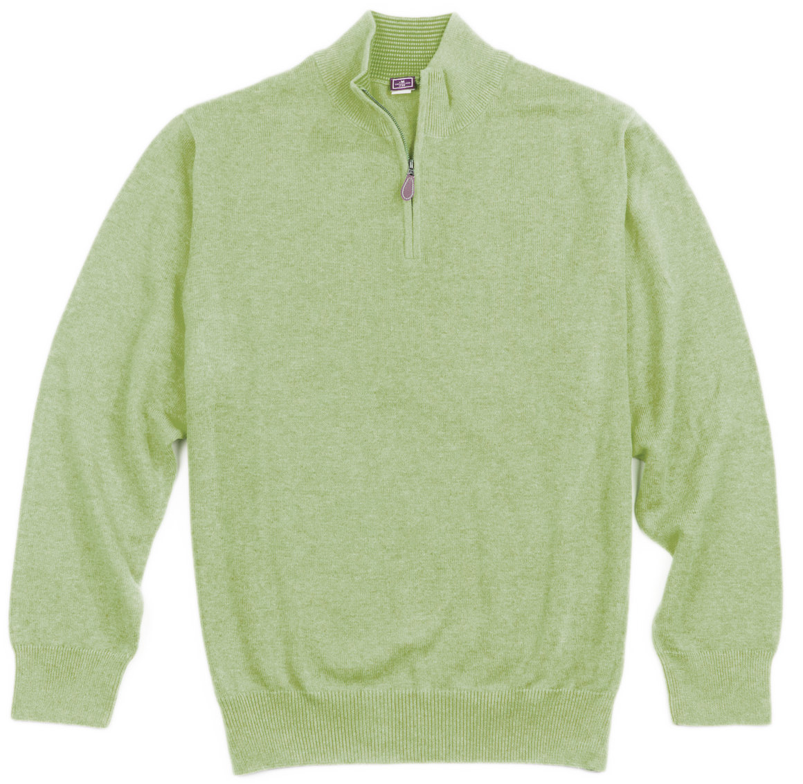 Mallard 1/4 Zip Pullover - Green - The Mallard