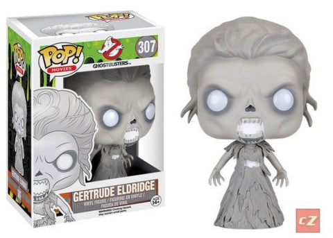 Funko Pop! Movies: Ghostbusters Gertrude Eldridge #307 *New In Box*