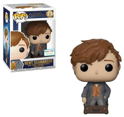 Funko Pop! Fantastic Beasts 2 Newt Scamander #23 B&N Exclusive