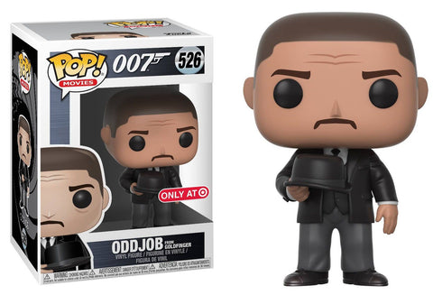Funko Pop Movies: James Bond Oddjob #526 Target Exclusive - collectorzown