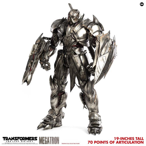 PRE-ORDER: Threezero Transformers: The Last Knight Megatron Deluxe Version 1:6 Scale Action Figure
