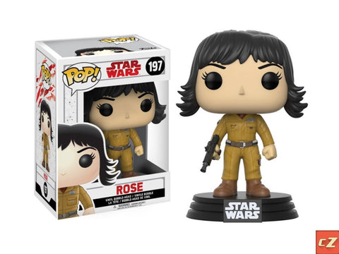 Funko Pop! Star Wars: The Last Jedi Rose #197 *New In Box* - CollectorZown