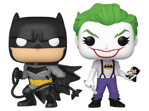 PRE-ORDER: Funko Pop! Heroes: Batman White Knight Batman & The Joker SDCC 2021 PX Previews Exclusive Two-Pack