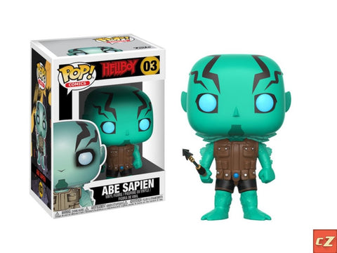 Funko Pop! Comics: Hellboy Abe Sapien #03 *New In Box* - collectorzown