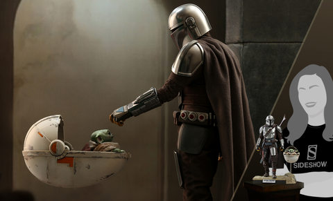 PRE-ORDER: Hot Toys The Mandalorian and The Child (Baby Yoda) Deluxe Sixth Scale Figure